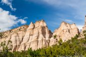 Falaises vues de Cave Loop Trail, Kasha Katuwe Tent Rocks