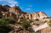 Hoodoos et rochers en équilibre sur Cave Loop Trail, Kasha Katuwe Tent Rocks