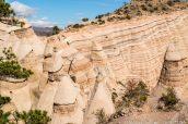 Tentes et stries de Kasha Katuwe Tent Rocks