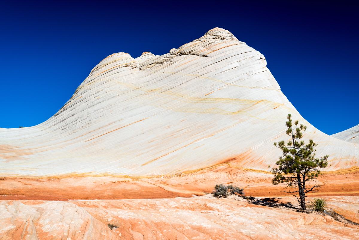 Dôme principal de White Domes, Canaan Mountain