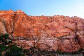 Water Canyon Arch vue lors de la montée vers Water Canyon