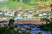 Ruisseau Havasu couleur émeraude, Havasupai