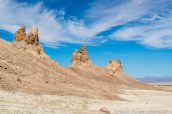 Pinacles en bordure du Middle Group de Trona Pinnacles