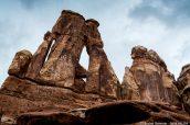 Druid Arch dans la section des Needles de Canyonlands