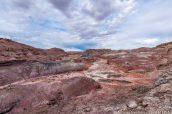 Badlands de Hanksville à Lith Canyon, Utah