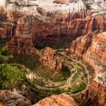 Zion, vue de Cable Mountain