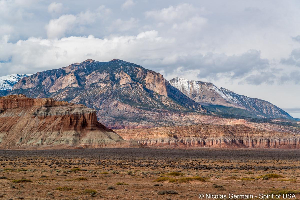 Paysage le long de la route UT-95, Utah