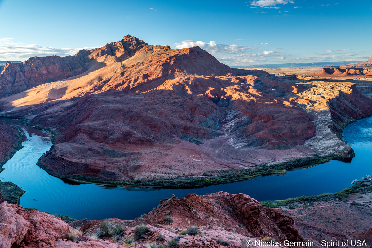 Vue du sentier Spencer Trail en début de matinée, Arizona