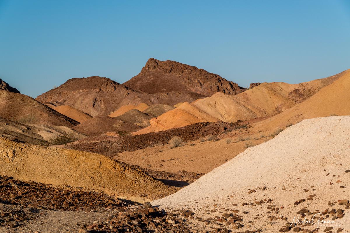 Paysage d'Imperial National Wildlife Refuge à Painted Desert