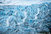 Détail d'Exit Glacier, Kenai Fjords, Alaska