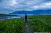Paysage au bout de Hope, péninsule Kenai