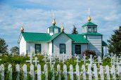 Eglise russe orthodoxe de Ninilchik, à l'ouest de la péninsule Kenai, Alaska