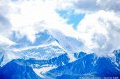 Le Mont Denali dans les nuages, Alaska