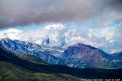 Impressionnant Mont Denali qui donne son nom au parc national d'Alaska