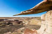 King of Wings et la plaine désertique de Ah Shi Sle Pah, Nouveau-Mexique
