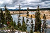 Panorama à Hayden Valley début octobre, Yellowstone National Park