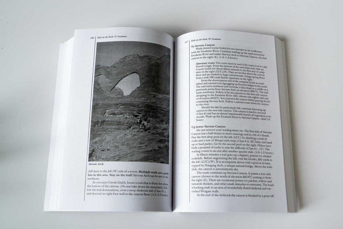 Exemple de page de Canyoneering 3