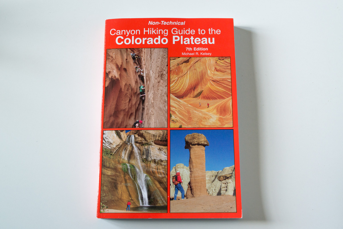 Couverture de Canyon Hiking Guide to Colorado Plateau de Michael Kelsey