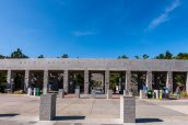Entrée de Mount Rushmore National Memorial