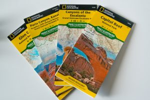 Cartes topographiques de National Geographic