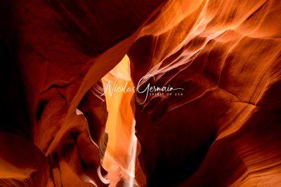 Upper Antelope Canyon - Nicolas Germain, Spirit of USA