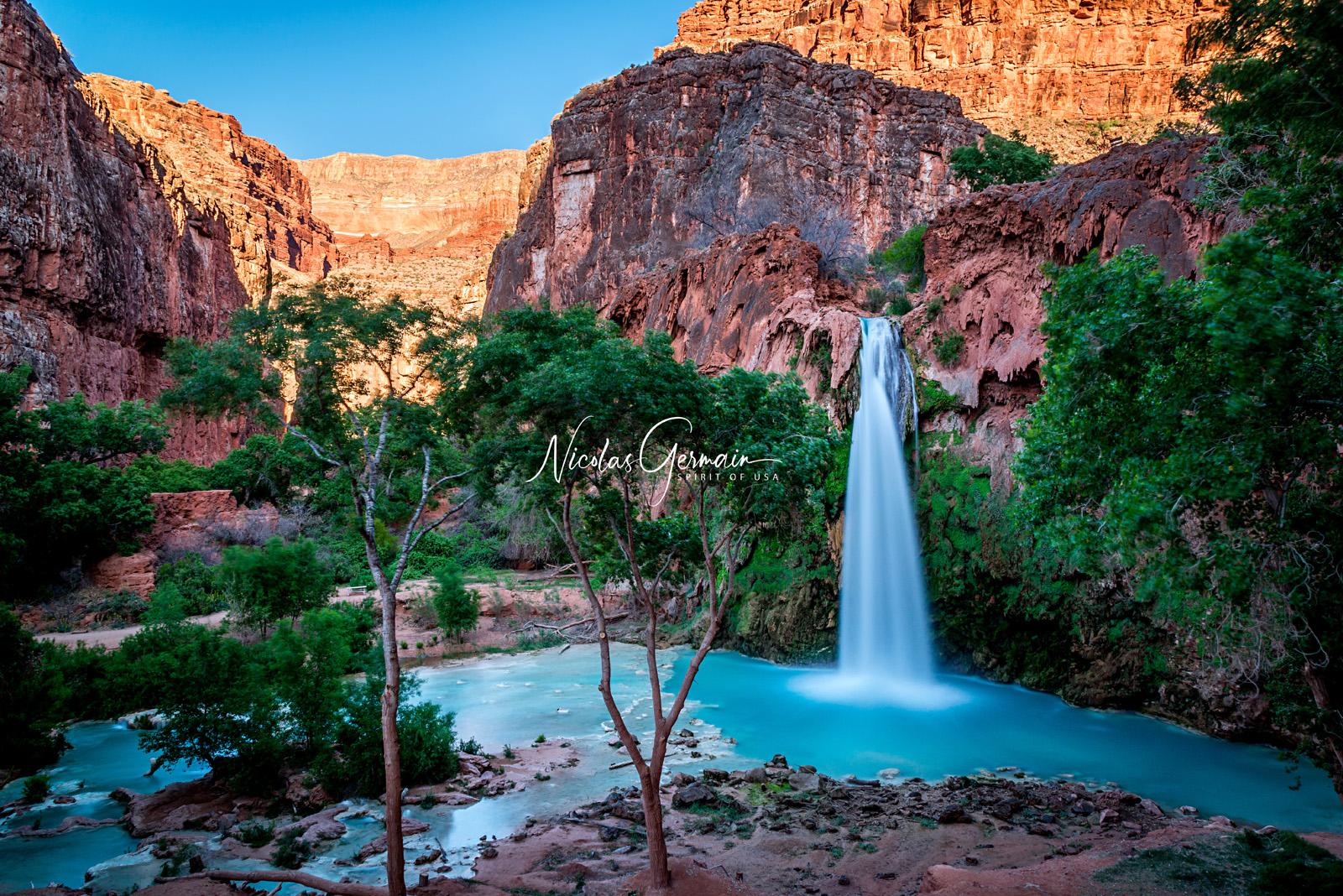 Havasu Falls - Nicolas Germain, Spirit of USA