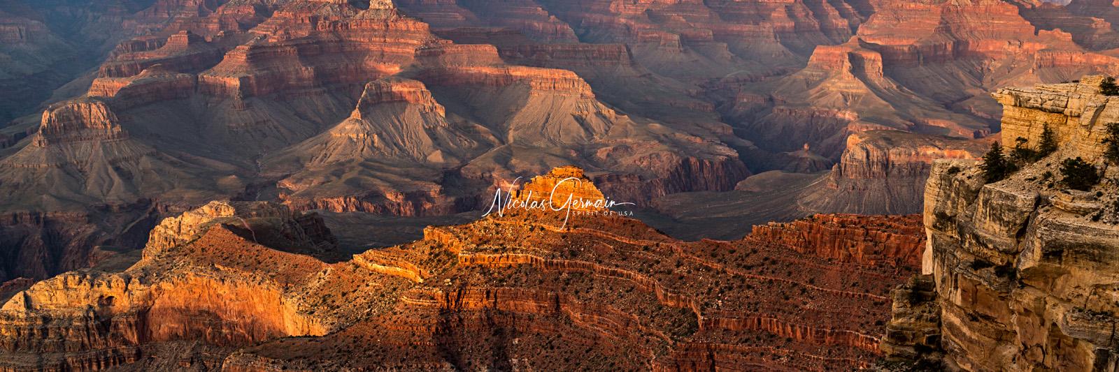 Grand Canyon, Mather Point - Nicolas Germain, Spirit of USA