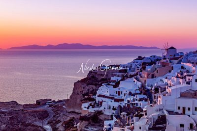 Oia, Santorin - Nicolas Germain, Spirit of USA
