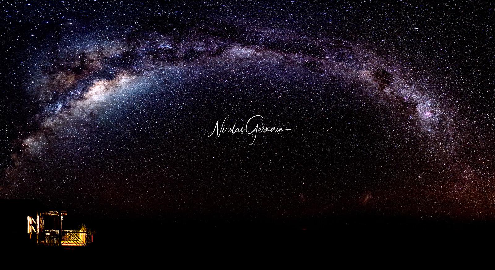 Sous la voute étoilée - Nicolas Germain, Spirit of USA