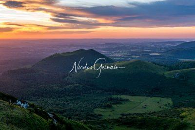 Chaîne des Puys, Auvergne - Nicolas Germain, Spirit of USA