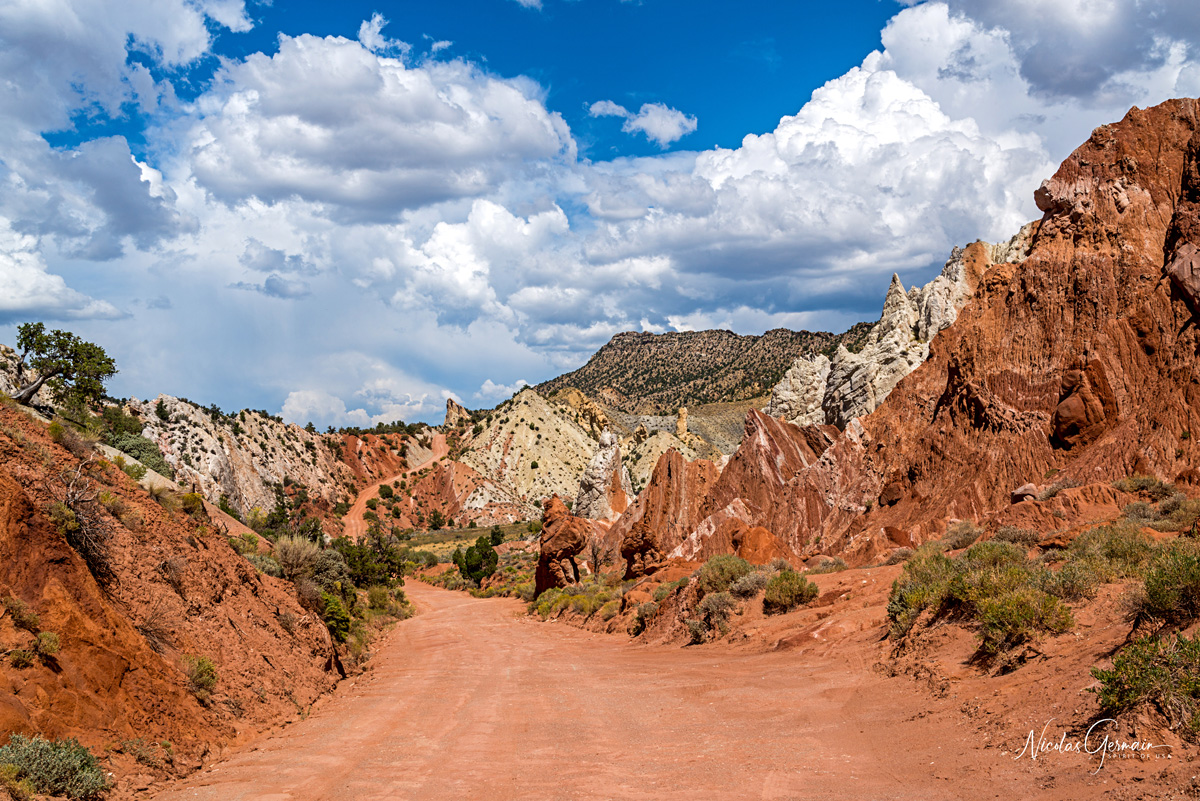 Cottonwood Canyon Road, secteur Candyland - Grand Staircase-Escalante