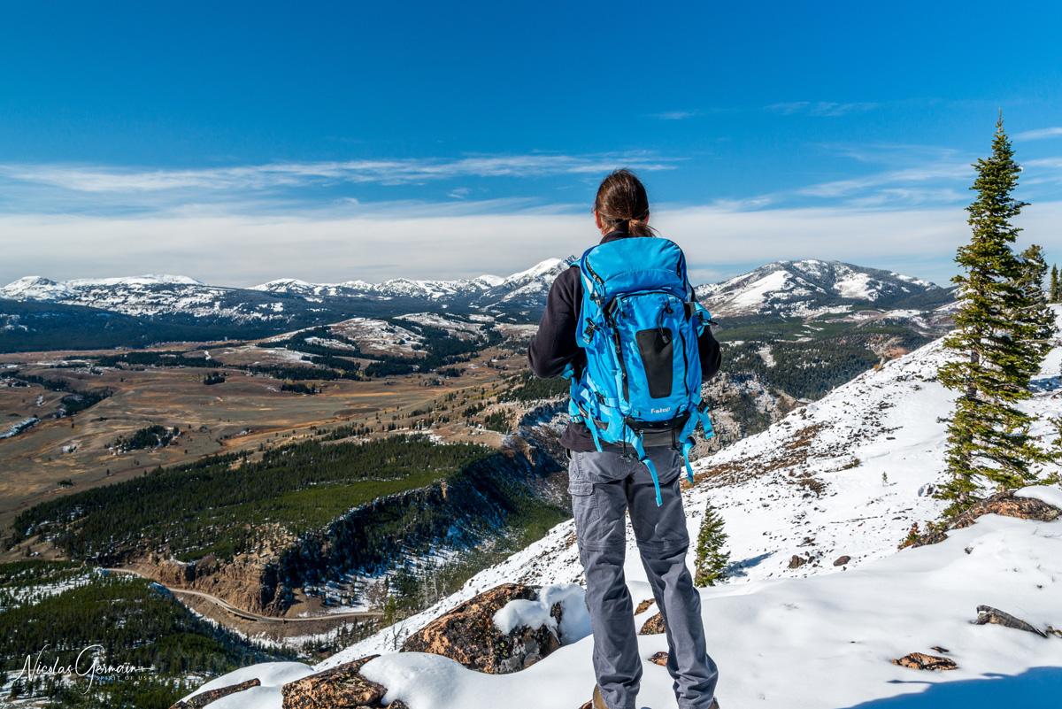 Randonnée au sommet de Bunsen Peak, Yellowstone National Park